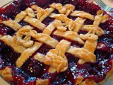 Cherry-Raspberry Rave Pie