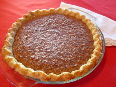 Chocolate and Pecan Pie