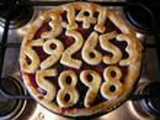 Pi Day Pie!  3.1415926535898 and so on