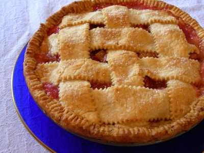 Royal Rhubarb Pie